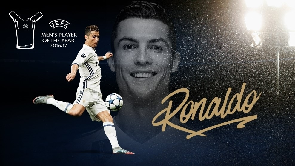 Ronaldo Named 201617 UEFA Mens Player Of The Year TodayNG