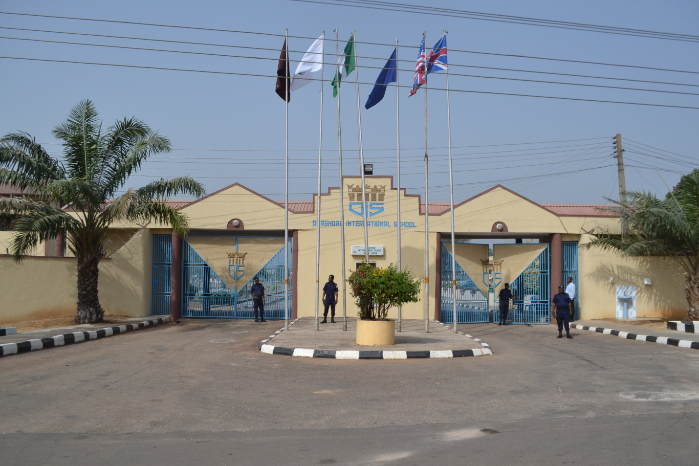 Entrance of the School