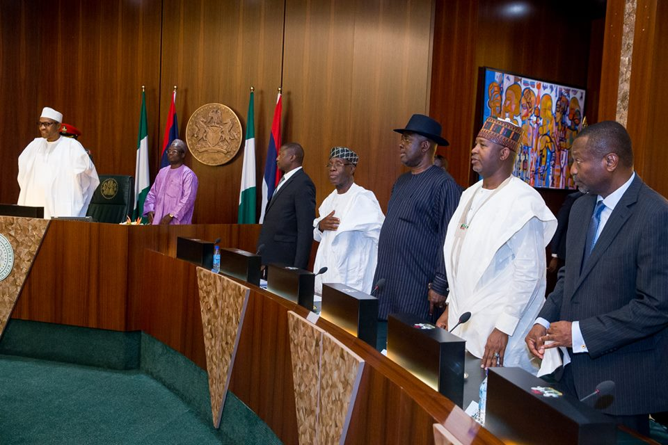 Buhari swears in ministers 11th November 2015 (1)