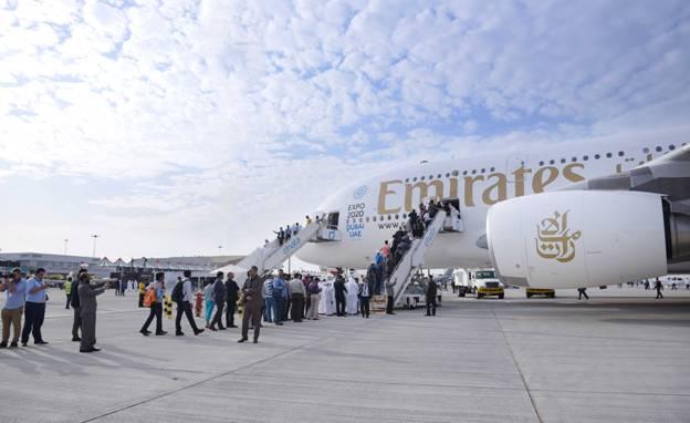 Emirates airshow