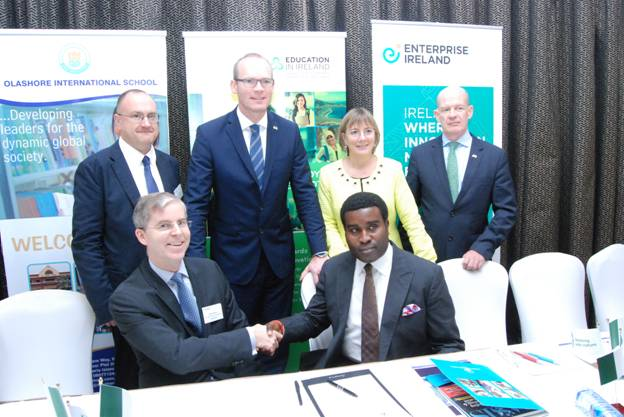 Olashore Signs MoU with Ireland 2015 (2)