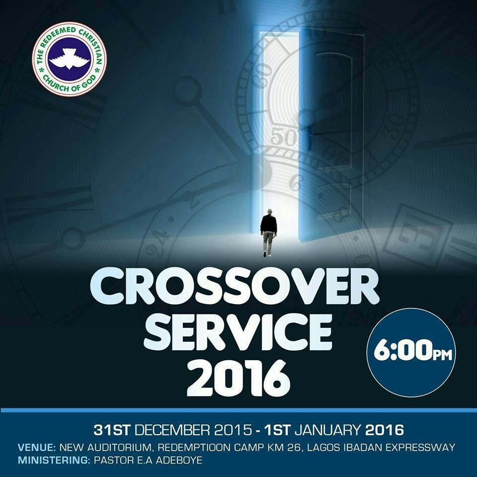 RCCG Cross Over Night 2015 2016