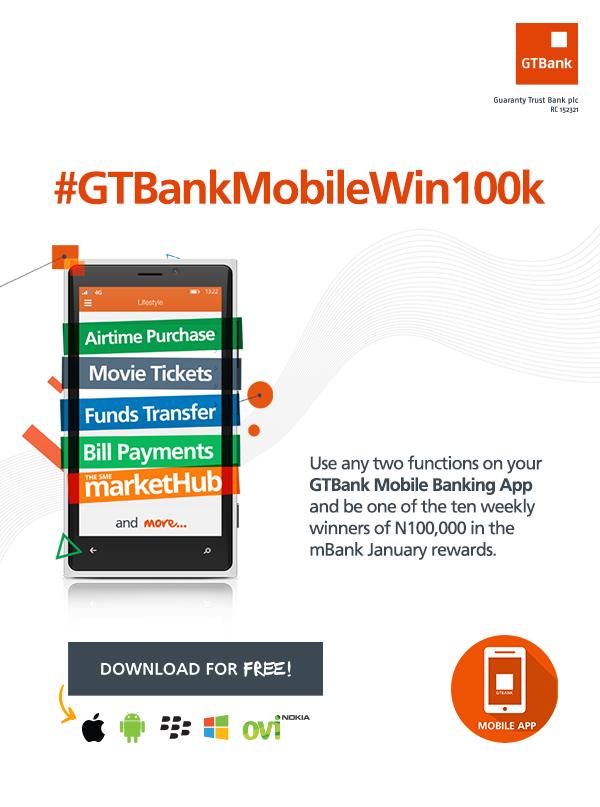 GTBankMobileWin100k