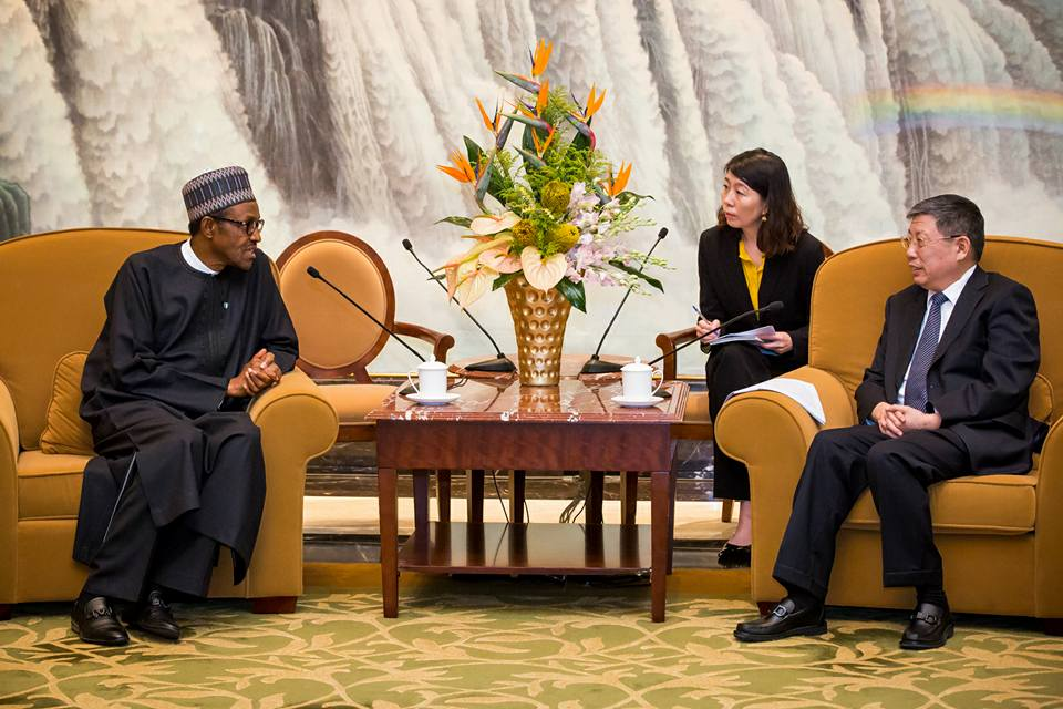 buhari in china