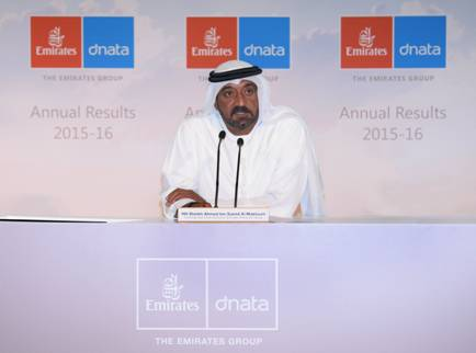 His Highness (H.H.) Sheikh Ahmed bin Saeed Al Maktoum, Chairman and Chief Executive, Emirates Airline and Group