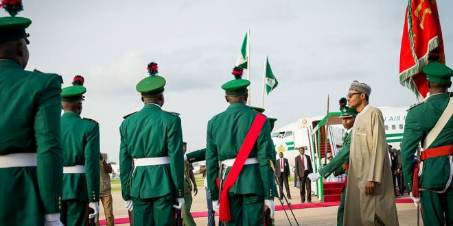 President Buhari arrives Abuja after 10-day vacation in London. June 19,2016 (1)
