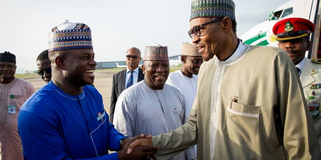 President Buhari arrives Abuja after 10-day vacation in London. June 19,2016 (6)